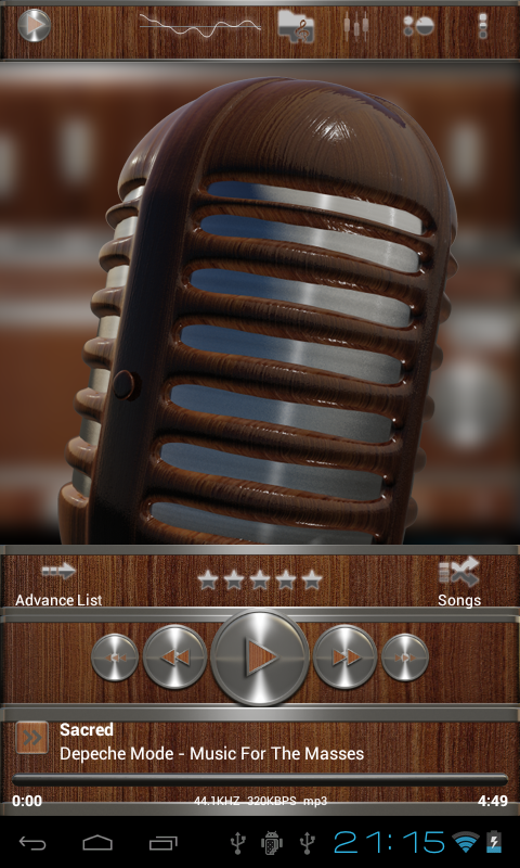 metal wood power amp skin - Android Apps on Google Play