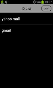 KeyHolder Lite - PasswordAdmin- screenshot thumbnail