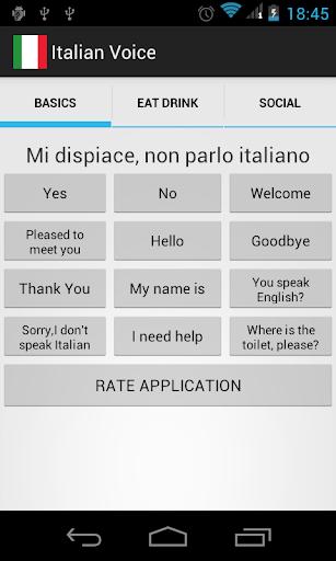 Italian Voice