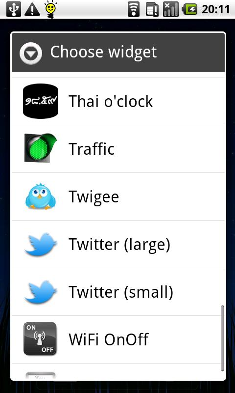 Thai o' clock - screenshot