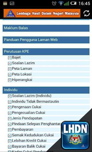 LHDN One Click Portal