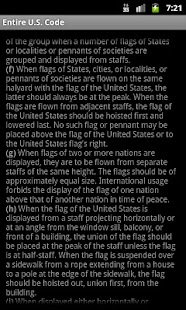 U.S. Flag Code App - screenshot thumbnail