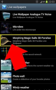 Morphing Magic Balls Parallax- screenshot thumbnail