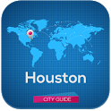 Houston Map Guide & Weather icon