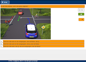 Screenshot of Rijles.nl Autotheorie