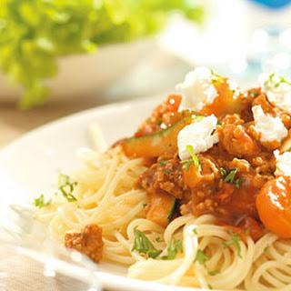 Spaghetti Geitenkaas