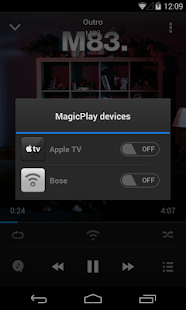 MagicPlay: AirPlay for Android - screenshot thumbnail