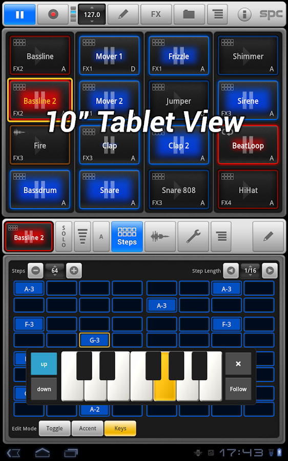 SPC - Music Drum Pad - screenshot