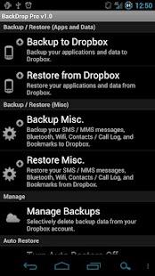 BackDrop Root Pro Key Screenshot 1