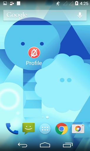 Profile Change Widget|玩工具App免費|玩APPs