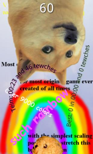 Flappy 2048 Cookie Doge Sim