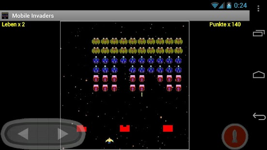 Mobile Invaders (Full) - screenshot thumbnail