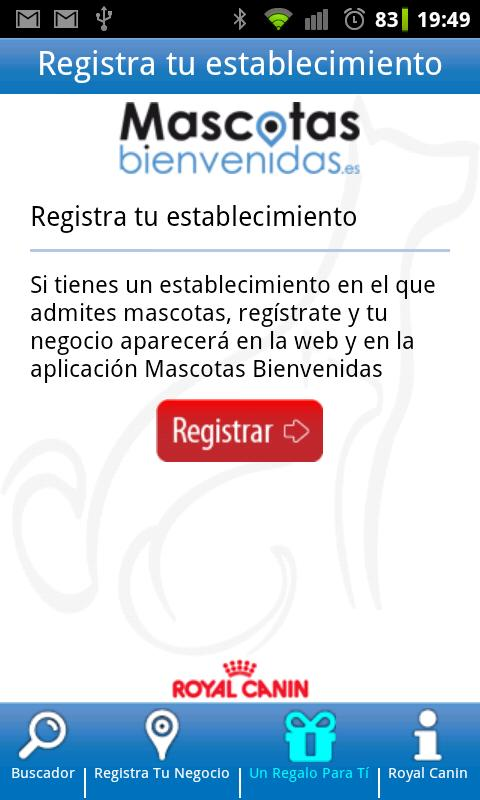 Mascotas Bienvenidas - screenshot