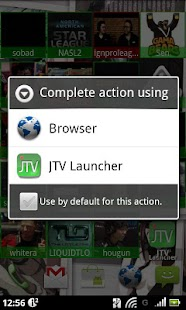 JTV Launcher Widget - screenshot thumbnail