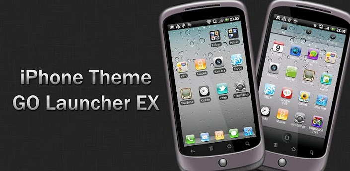 iPhone Go Launcher EX Theme v4.3