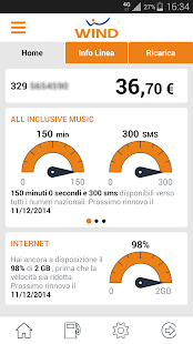 MyWind (App ufficiale Wind) - screenshot thumbnail