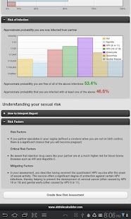 STD Risk Calculator Lite - screenshot thumbnail