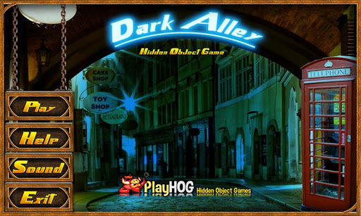 Dark Alley Free Hidden Objects