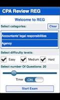 Screenshot of CPA Review - REG