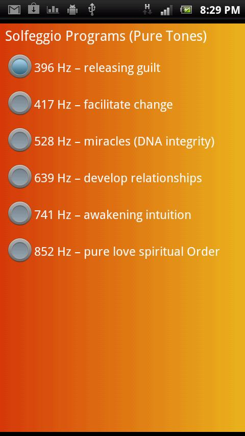 Binaural Beats Meditation- screenshot