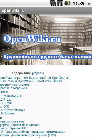 openwiki.ru - screenshot