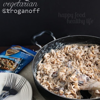 Easy Weeknight Vegetarian Stroganoff