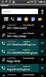 RINGME elegant Ringtone Maker screenshot 0