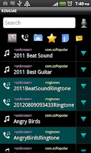 RINGME elegant Ringtone Maker- screenshot thumbnail