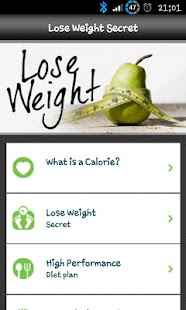 Lose Weight Secret Lite screenshot