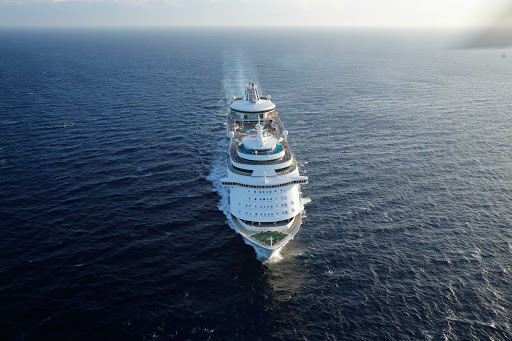 Mariner-of-the-Seas-Aerial-6 - Mariner of the Seas features three- and four-night cruises from Miami to the Bahamas.