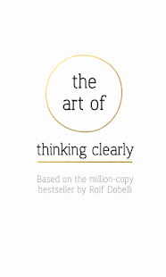The Art of Thinking Clearly- screenshot thumbnail