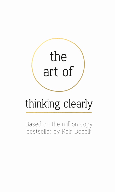 The Art of Thinking Clearly- screenshot