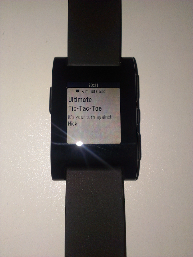 Pebble Notifier - screenshot