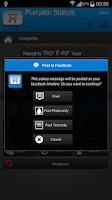 Screenshot of Punjabi Status/SMS