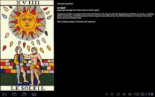Screenshot of TarotBot Marseille Noblet