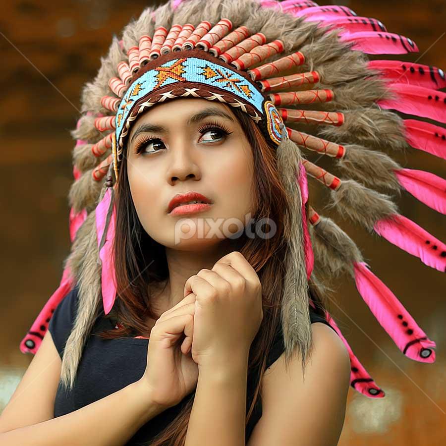 Indian by Septyadhi  Gunawan - People Portraits of Women