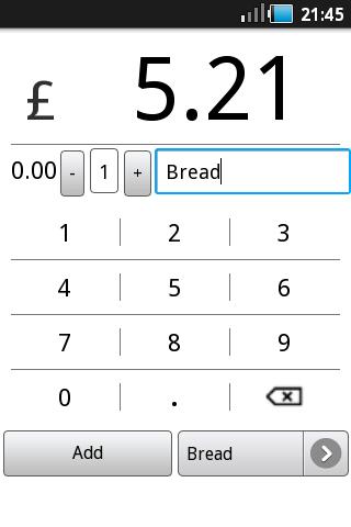 ShopCal Shopping Calculator