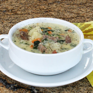 Sausage and Potato Soup With Kale