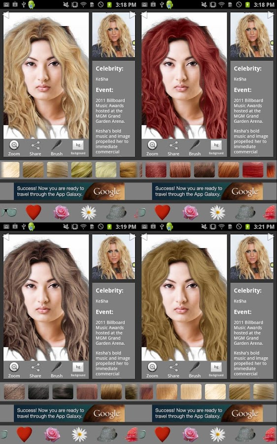 Magnificent Ultimate Hairstyle Try On Android Apps On Google Play Short Hairstyles Gunalazisus