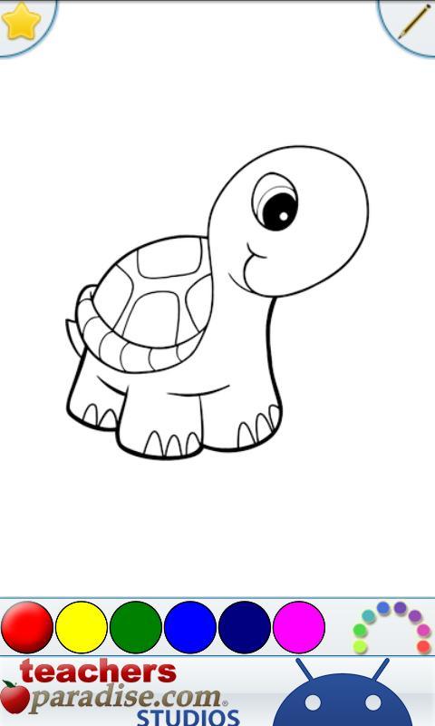Kids Pets Coloring Book Game Screenshot