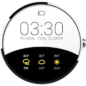 Weather Watch Face for Wear