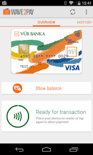 VÚB Wave 2 Pay- screenshot thumbnail