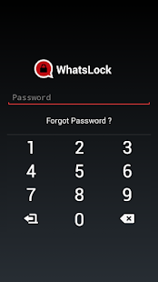 Lock for Whatsapp (WhatsLock)- screenshot thumbnail