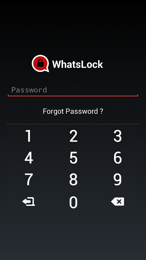 Lock for Whatsapp (WhatsLock)- screenshot