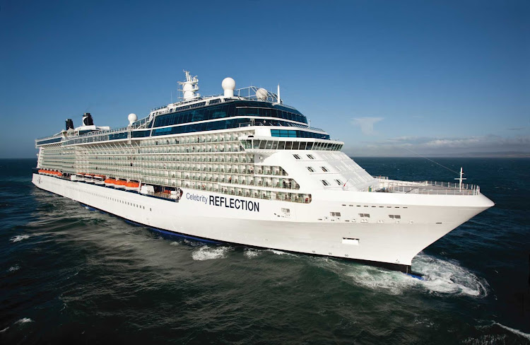 The impressive 3,046 passenger Celebrity Reflection is the biggest in the Solstice Class.