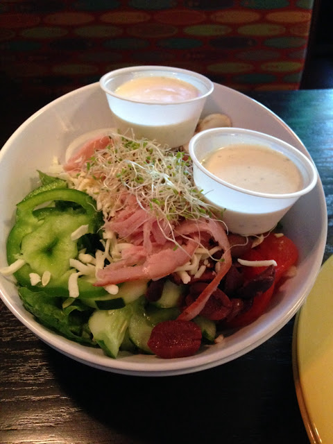 Gluten free chef's salad