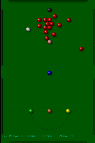 Snooker- screenshot