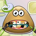 Cute Pou Dentist icon