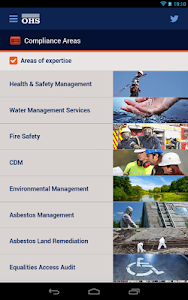 OHS Health & Safety PocketApp screenshot 2
