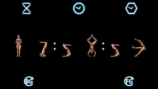 Gymnastic Clock
